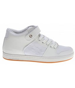 Ipath Grasshopper Skate Shoes White Action Leather/White Organic Canvas/Gum