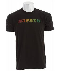 Ipath Horizon T-Shirts Black/Rasta
