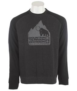 Ipath Mammoth Raglan Crew Hoodie Charcoal Heather/Black