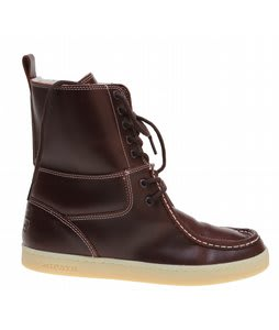 Ipath Shearling Boots Rootbeer Smooth Leather