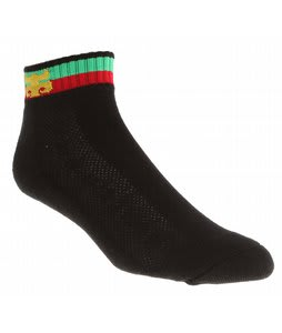 Ipath Striped Ankle Socks Black
