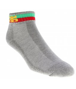 Ipath Striped Ankle Socks Grey