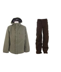 Burton Bad Moon Rising Jacket w/ Burton Ronin Cargo Pants