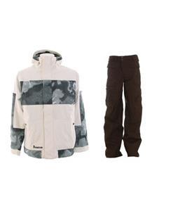 Burton Cosmic Delight Jacket w/ Burton Ronin Cargo Pants