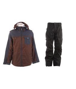 Burton Captain Tripps Jacket w/ Gravity Bennie Insulated Pants