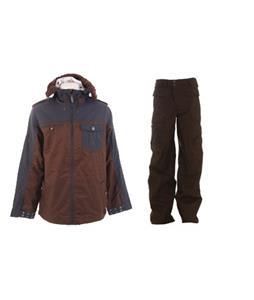 Burton Captain Tripps Jacket w/ Burton Ronin Cargo Pants