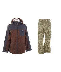 Burton Captain Tripps Jacket w/ Burton Cargo Pants