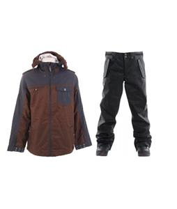 Burton Captain Tripps Jacket w/ Foursquare Draft Pants