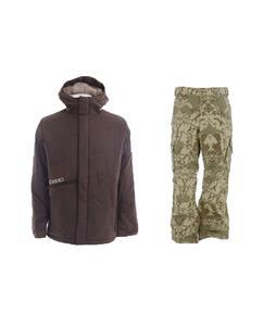 Burton Defender Jacket w/ Burton Cargo Pants