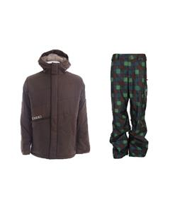 Burton Defender Jacket w/ Burton Poacher Pants