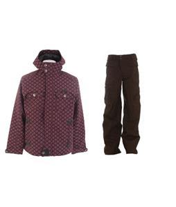 Burton Entourage Jacket w/ Burton Ronin Cargo Pants