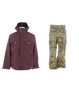 Burton Entourage Jacket w/ Burton Cargo Pants