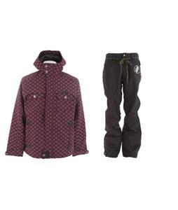 Burton Entourage Jacket w/ Grenade Reg Pants