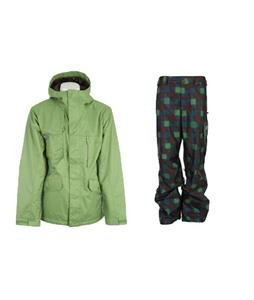 Burton Esquire Jacket w/ Burton Poacher Pants