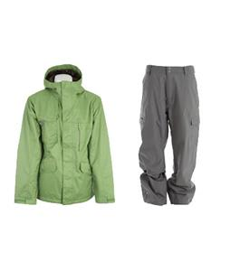 Burton Esquire Jacket w/ Quiksilver Drill Shell Pants