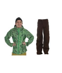 Burton Idiom Continuum 2.5L Jacket w/ Burton Ronin Cargo Pants
