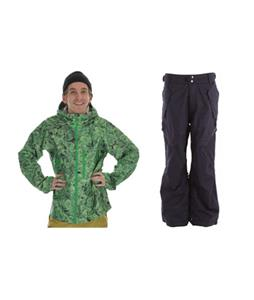 Burton Idiom Continuum 2.5L Jacket w/ Ride Phinney Pants