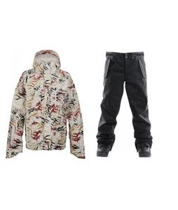 Burton Slub Jacket w/ Foursquare Draft Pants
