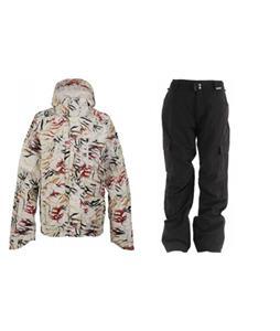 Burton Slub Jacket w/ Grenade Army Corps Pants