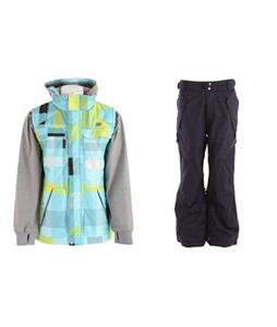 DC Silverton Jacket w/ Ride Phinney Insulated Pants