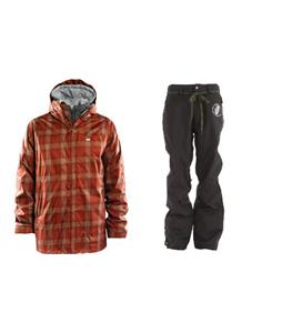 Foursquare Planner Jacket w/ Grenade Reg Pants