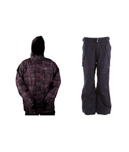 Foursquare Serle Jacket w/ Ride Phinney Insulated Pants