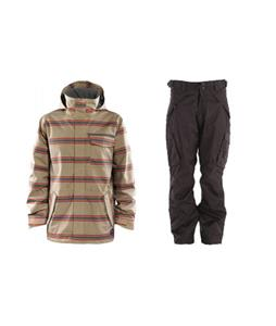 Foursquare Truss Jacket w/ Boulder Gear Deluxe Cargo Pants