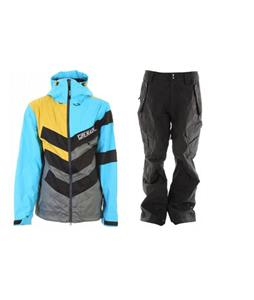 Grenade Chevron Jacket w/ Ride Belltown Pants