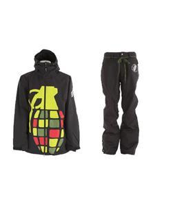 Grenade Exploiter Jacket w/ Grenade Reg Pants