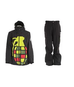Grenade Exploiter Jacket w/ Trespass Acknowledgement Pants