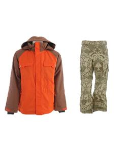 Ride Ballard Insulated Jacket w/ Burton Cargo Pants