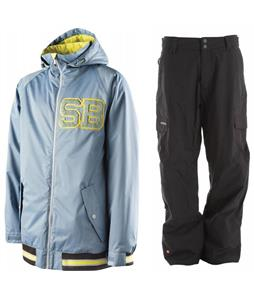 Special Blend Unit Jacket w/ Quiksilver Drill Shell Pants