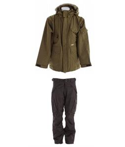 Special Blend Utility Jacket w/ Boulder Gear Deluxe Cargo Pants