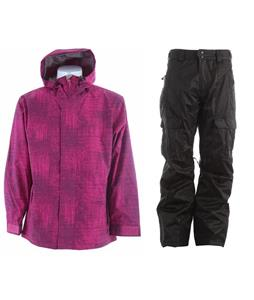 Sessions Truth Jacket w/ Gravity Bennie Insulated Pants