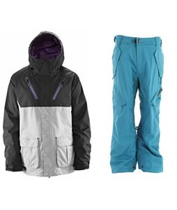Thrity Two Cedar Jacket w/ Ride Phinney Insulated Pants