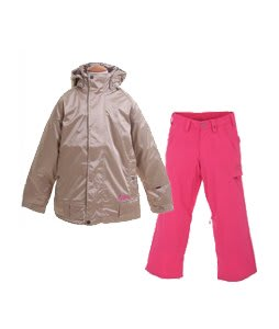 Burton Reflex Jacket Glimmer w/ Burton Cargo Smalls Pants Burlap