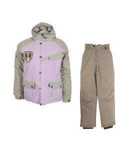 Sessions Magneto Ski Jacket Dragonfly/Khaki w/ White Sierra Action Insulated Ski Pants Smoke