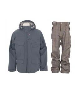 Foursquare Wright Jacket North Seas w/ Special Blend Assure Pants Rusty Plaid