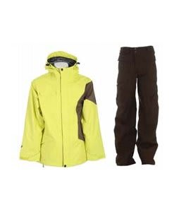 Ride Gatewood Jacket Lime w/ Burton Ronin Cargo Pants Mocha