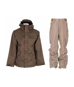 Ride Pioneer 3 In 1 Jacket Canteen w/ Foursquare Boswell Pants Tan A Poppin