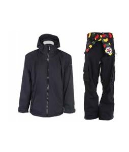 Sessions Work Jacket Black Magic w/ Sessions Bozung Pants Black Magic
