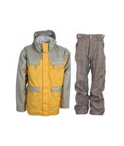 Special Blend Brigade Jacket Olive Grey w/ Special Blend Assure Pants Rusty Plaid