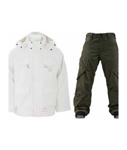 Special Blend Brigade Jacket White Invader w/ Foursquare Q Pants Portland Pine