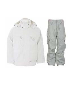 Special Blend Brigade Jacket White Invader w/ Foursquare S2 Q Pants Olivine Leaf Maze