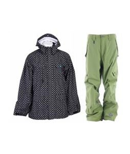Special Blend Circa Jacket Blackout Thugby Icon  w/ Sessions Achilles Pants Lime