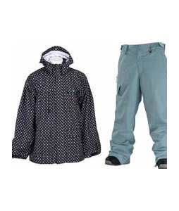 Special Blend Circa Jacket Blackout Thugby Icon  w/ Special Blend Empire Pants Powday Blue