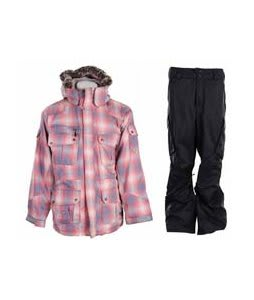 Special Blend Cross Jacket Pop Plaid w/ Burton Fife Pants True Black