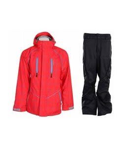 Special Blend Signature Jacket Red Rum Crossfire w/ Burton Fife Pants True Black