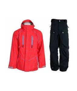 Special Blend Signature Jacket Red Rum Crossfire w/ Sessions Tinker Pants Black Magic