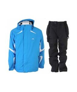 Trespass Horgan Jacket Cobalt w/ Trespass Glasto Snow Pants Black